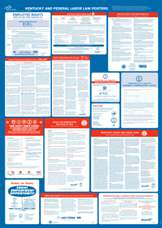Ky. & Federal Mandatory Postings (Laminated) All-in-One